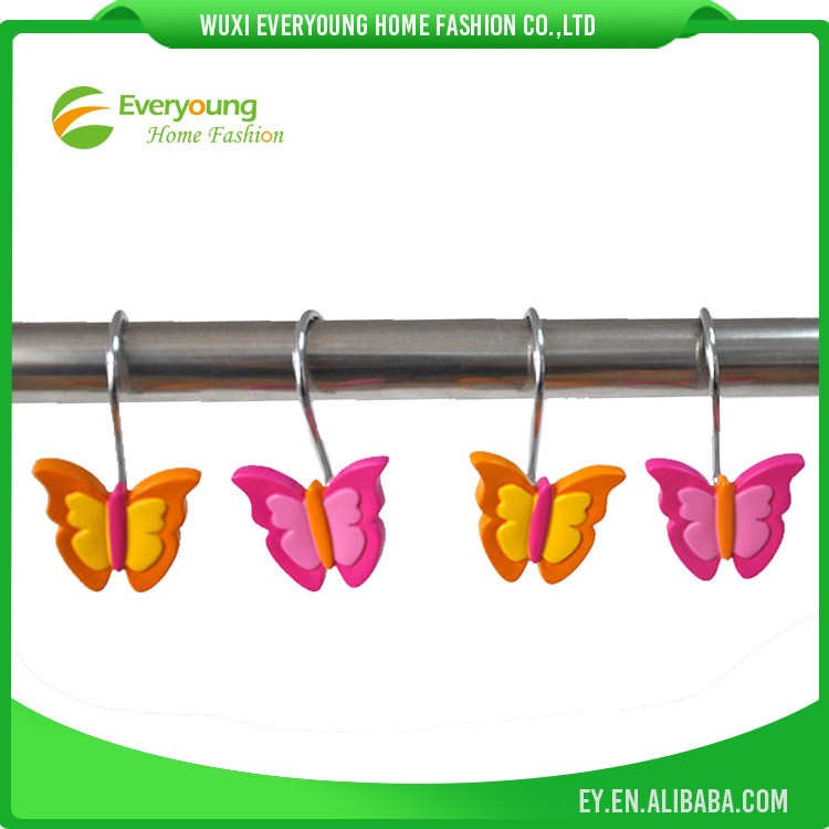 Decorative Shower Curtain Hooks/Resin Hooks