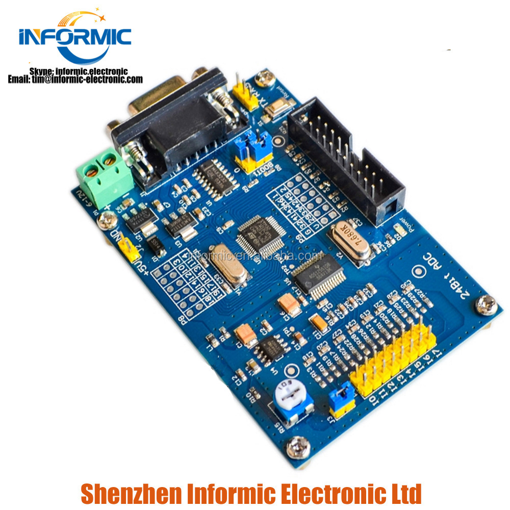 Air Conditioner Parts Home Appliances High Precision Acquisition Module Ads1256+stm32f103c8t6 Industrial Control Development Learning Board 24 Bit Adc Power Supply Sufficient Supply