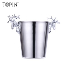 (High) 저 (-끝 Retro Design 맞춤형 Stainless Steel 샴페인 Ice Bucket 은/금
