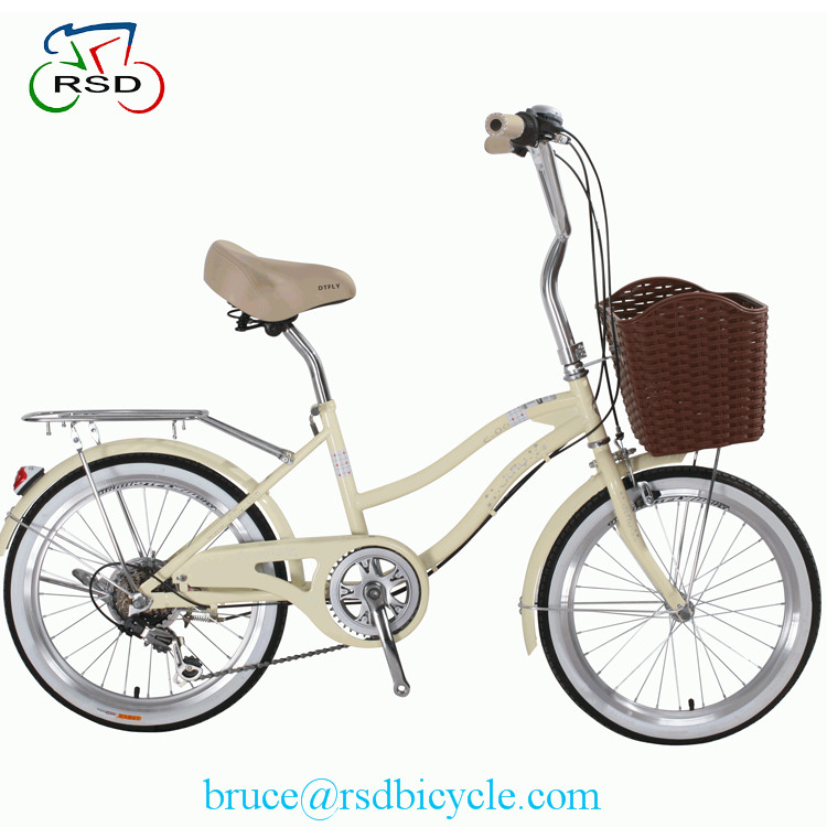 Steel frame lady bicycle fashion style 26 / 28 inch city bike for lady / ladies vintage bicycle for 24 26 inch