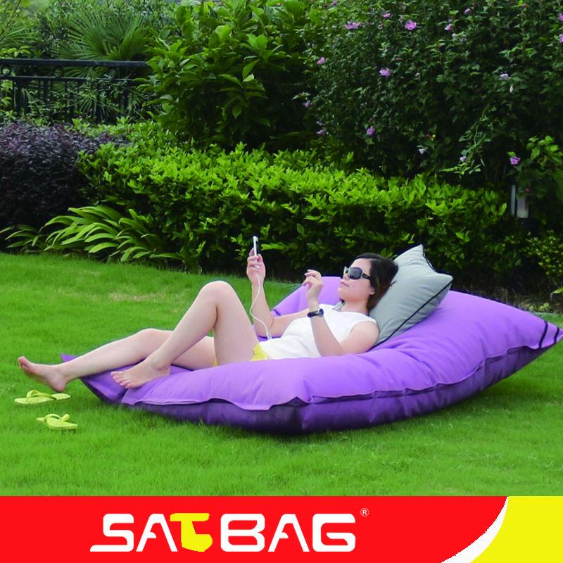 Beige Cream Fashion Modern Cozy Massage Waterproof Outdoor Beach Bean Bag  Toss Chair Cushion Furniture Part 71