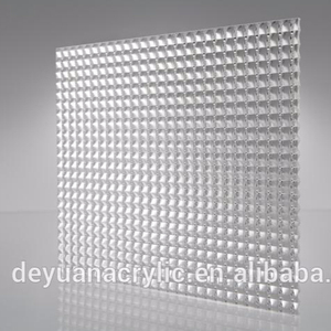 Wholesales PMMA extruded light diffuser / acrylic light diffuser sheet