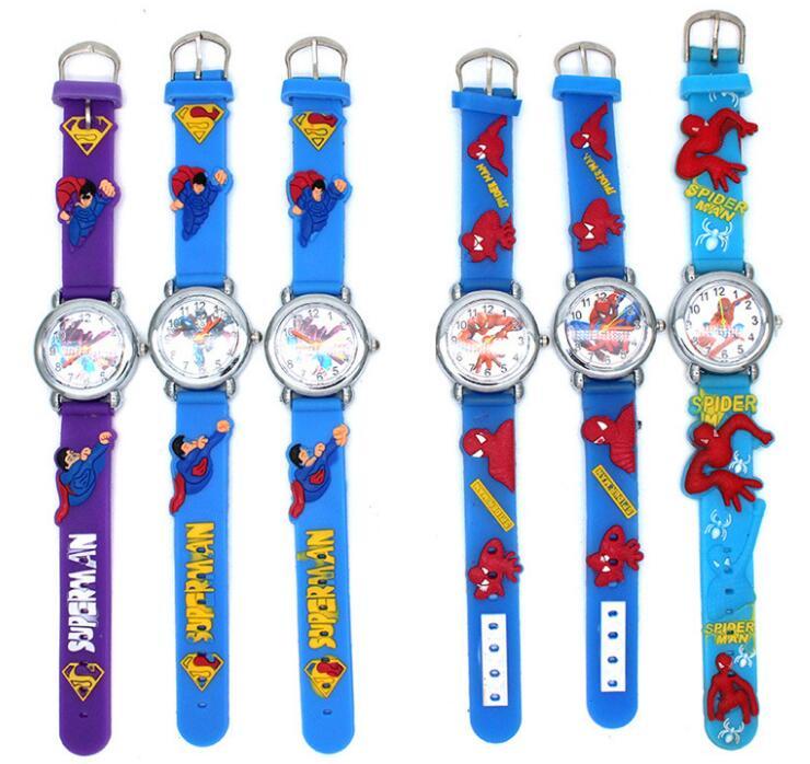 Brilliant Hot Sale Fashion Kids Watch Cartoon Watch Children Student Silicone Waterproof Quartz Wristwatch Slap Cute Gift Watches