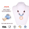 Food Grade Woman Necklace Bay Pearls Silicone Teething Necklace Jewelry