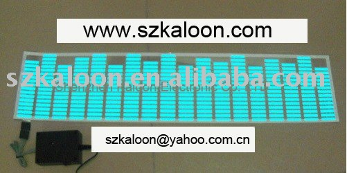 electroluminescent sheet for car