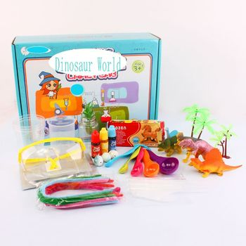 Diy Dinosaur Assembly Science Kit Stem Educational Toys For Kids