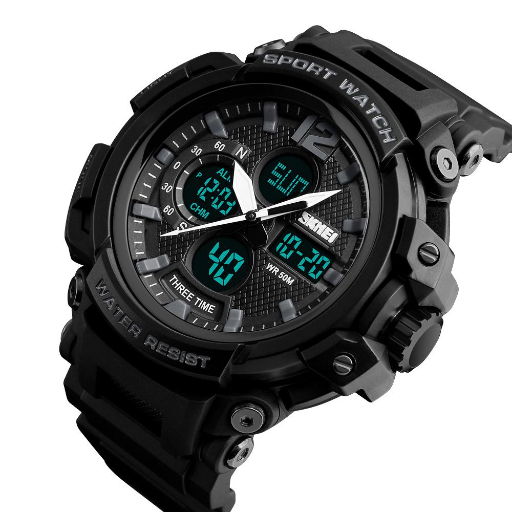 9c4a93cd66a1f عالية الجودة و أرخص سعر الجملة الكوارتز والرقمية باند ساعات رجالية الرياضة  نمط ووتش  1343