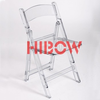 Merveilleux Plexiglass Folding Chairs For Event