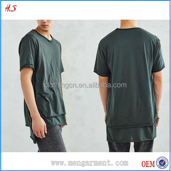 Double Layer Design Plain 94 Cotton 6 Spandex T-Shirts Lightweight Jersey T Shirts Manufacturers In China