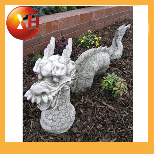 tamao natural estatuas de dragn chino para el jardn exterior decoracin
