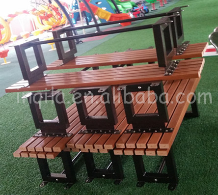 Wood illuminated garden furniture plastic outdoor furniture