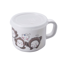 Heat resistant high quality melamine tablewre plastic kids mug milk cup