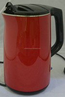 PP OUTSIDE+ELECTRIC KETTL,LOW PRICE,HIGH QUANLITY,2.0L CAPACITY,1500W,RED,LSMALL HOME APPLIANCE,GLASS GAP