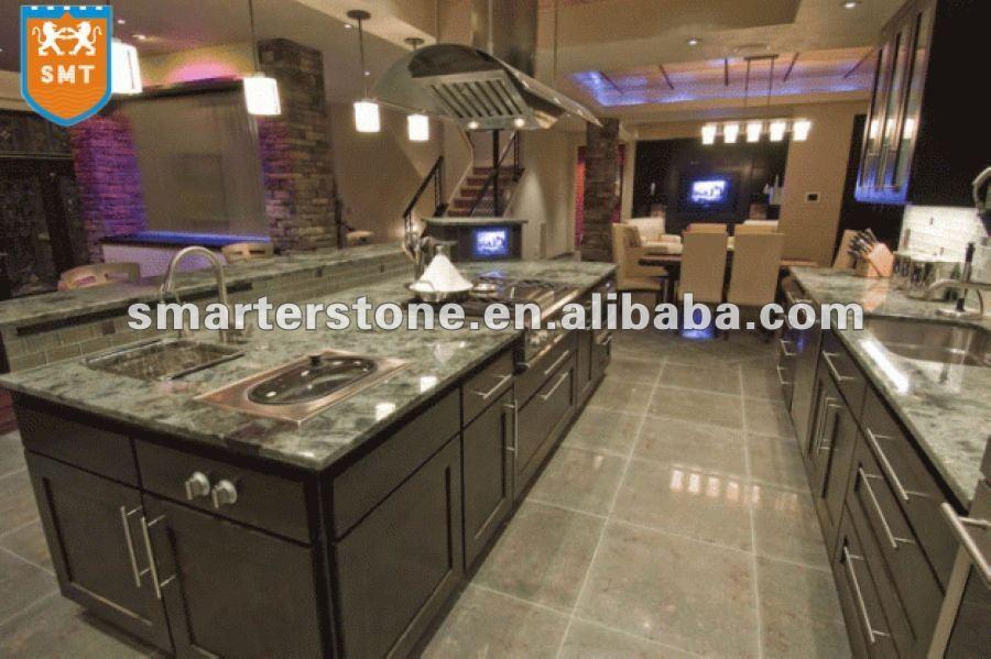 Encimera de marmol cocina/restaurante de diseño mostrador ...