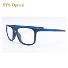 TR90 sports full frame eyewear colorful men women super light designers eyeglasses frames