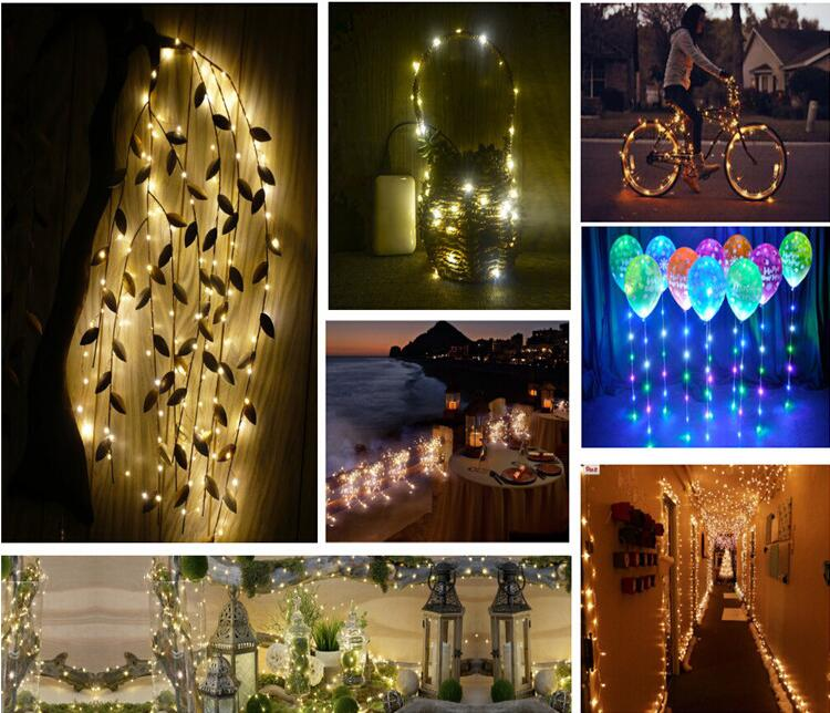 outdoor and indoor decoration 10m 100leds fairy light,copper wire led christmas string light for wedding and party
