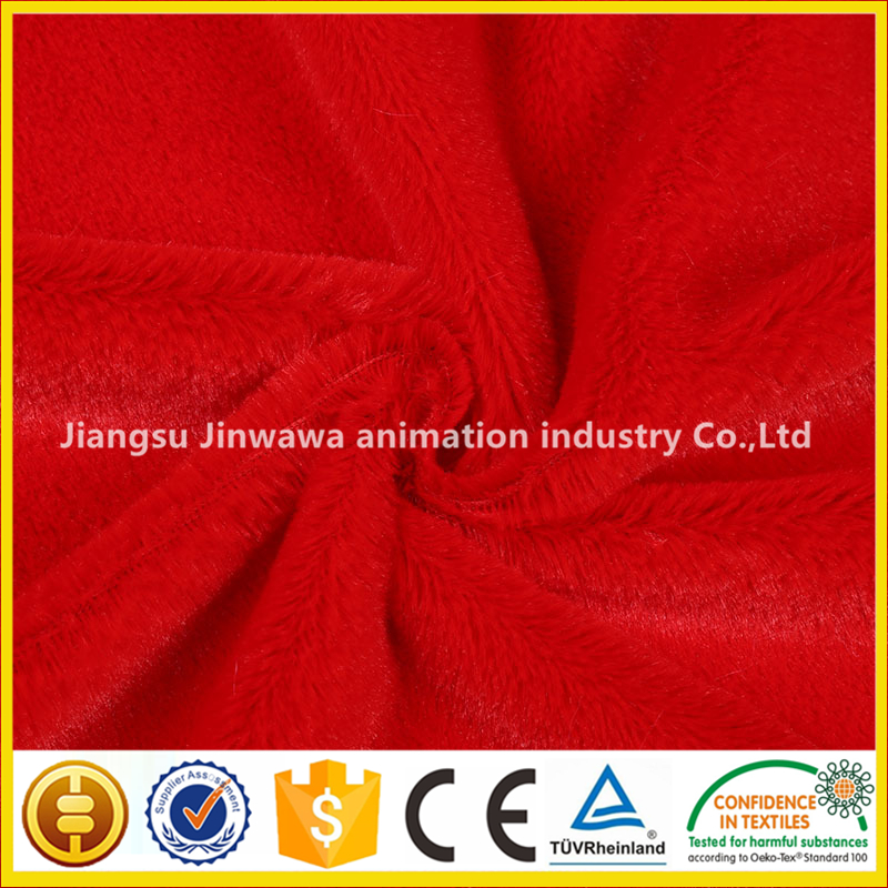china manufactory super soft short pile plush with good price