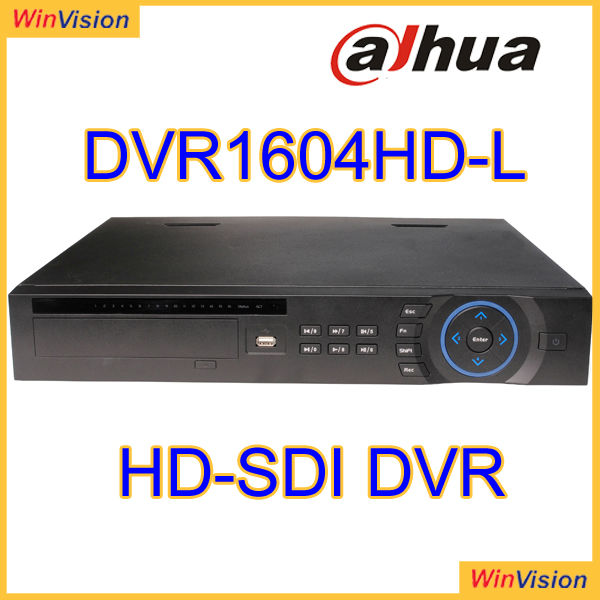 High definition SDI DVR 16CH Digital Video Recorder Dahua DVR1604HD-L use for high end project