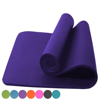 Custom logo 1/2 inch thick fitness mat with low cost and high quality