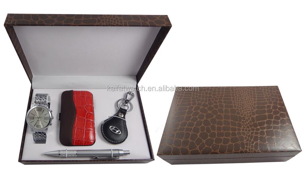 5b254e79f99c Wholesale Men Luxury Watch Gift Set With Cufflinks