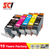 Edible Ink Cartridge for PGI520 CLI521 PGI-520 CLI-521with ARC chips
