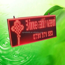Programmable LED Moving Message Display Board/LED Sign/Advertising LED Electronic Information Screen