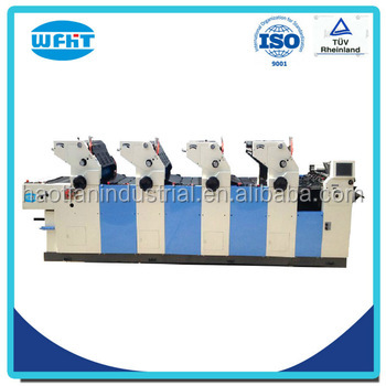 Ht 456 the unit type 4 color offset printing machine price list