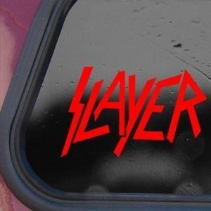Slayer Red Sticker Decal Metal Band Wall Laptop Die-cut Red Sticker Decal