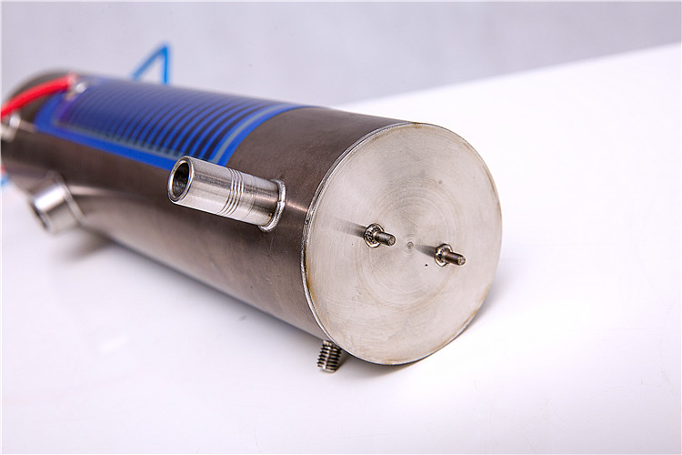 Rare earth instant thick film heating tube for larger power water heater