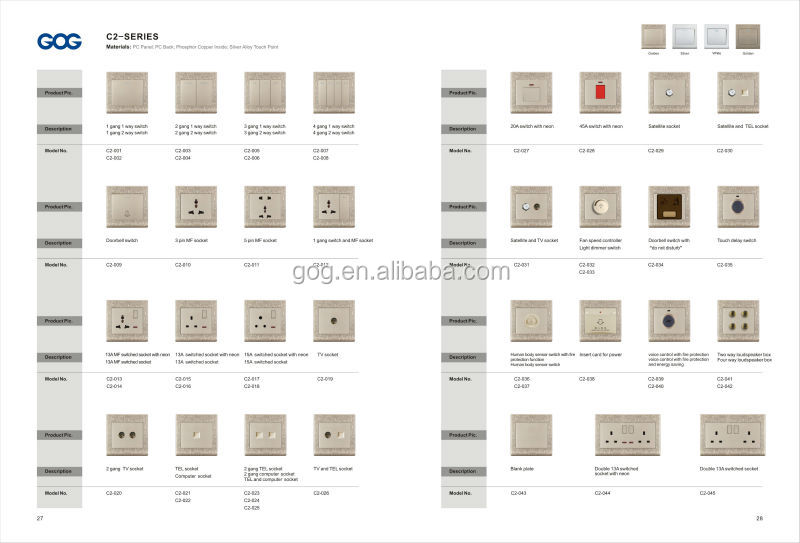 Bs Mk Electrical Socket And Switches Wall Switch