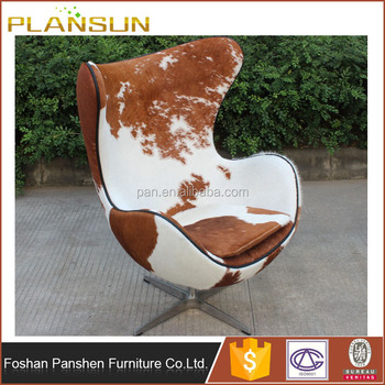 Superieur Mid Century Modern Reproduction Furniture Fiberglass Egg Chair Pony Hide