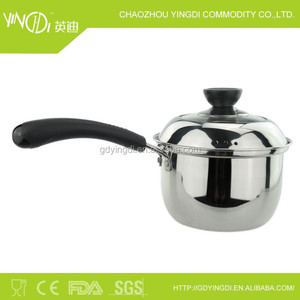 Korea hot selling stainless steel noodle pot/milk pot/cooking pan