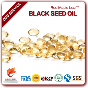 500mg Private Label Chang Bad Hair Pure Black Seed Oil Soft Capsules