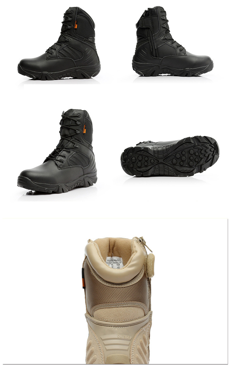 ทหารยุทธวิธีบู๊ทส์ทะเลทรายทหาร terra combat boots