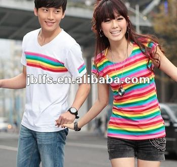 Latest Fashion Design Couple Lover T Shirt