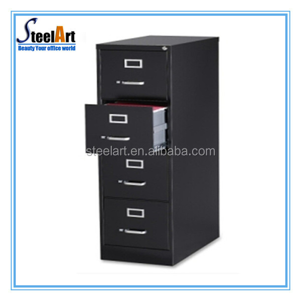 4 Drawers Steel Colorful Full Space Use High End File Cabinets