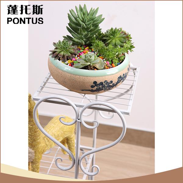 China Supplier Heart Shape Vintage Craft Wrought Iron Flower Pot ...