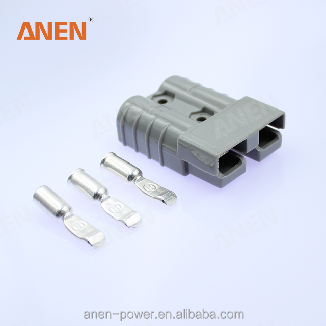 120A Battery Connector Quick Connect Battery Modular Power Connectors Quick Disconnect Blue