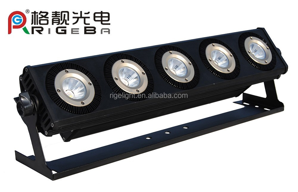 led stage light Art Mesh high power 5*25w RGBWA 5 in 1 waterproof IP65 LED wall washer