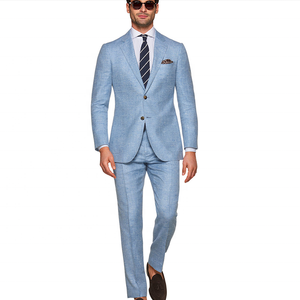 Top brand coat pant men suit 2 piece latest design casual man trousers and blazers