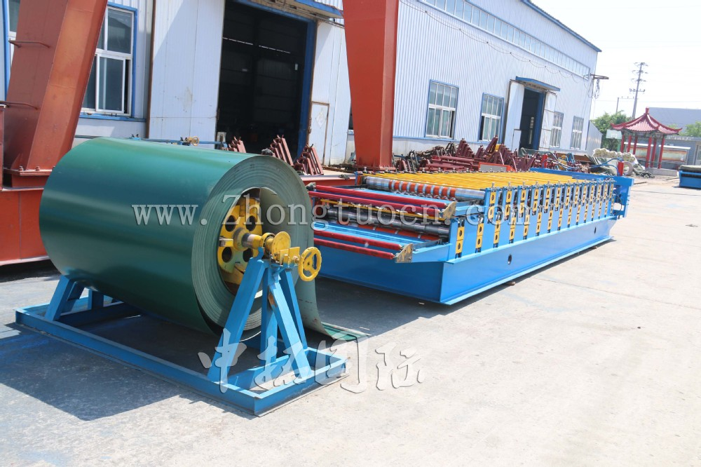 sheet metal roll forming machine