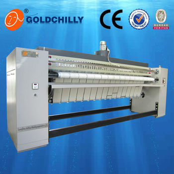 flat ironing machine one two three four roller industrial hotel auto