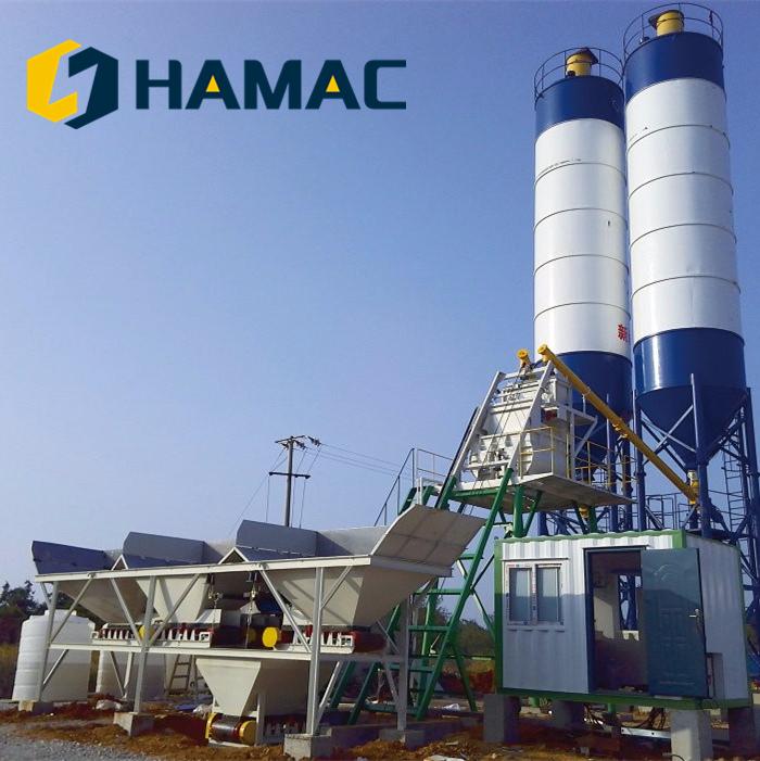 Concrete batching plant HZS25 - Buy on www.bizator.com
