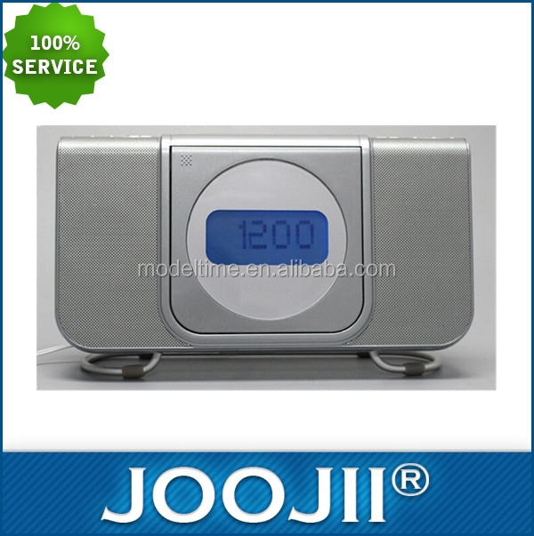 CD Alarm Clock with digital AM/FM Radio