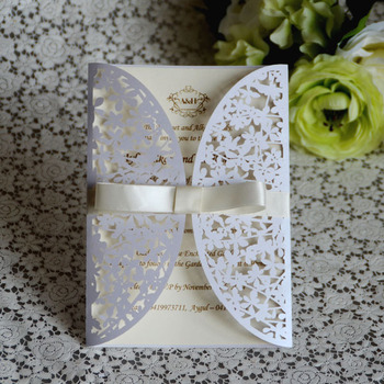 guangzhou supplier of wedding card party luxury invitation card