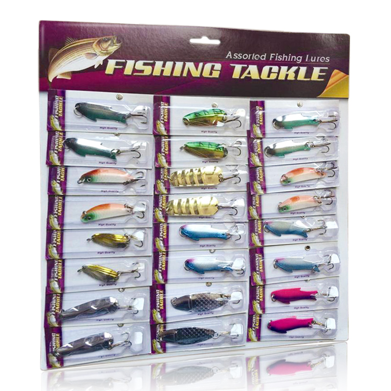 high quality artificial fishing lure set