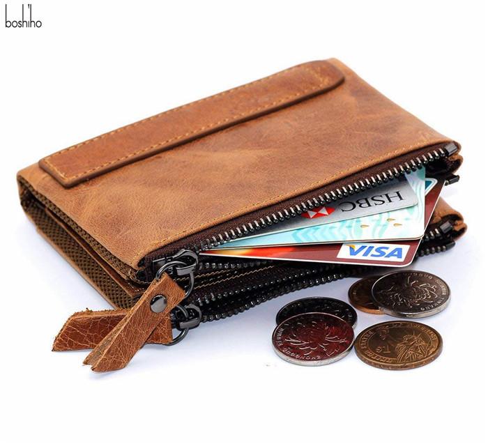 b6a7d263af61 Boshiho Men Leather Wallet RFID Blocking Men's Wallets Credit Card Holder  Coin Pocket Purse, View 2018 Hot Branded German Slim Card Holder Money Clip  ...