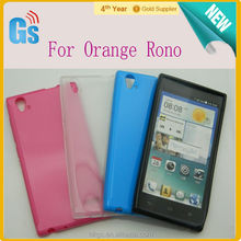 Back Cover For ZTE Blade Vec 4G TPU Case Jelly Case For Orange Rono