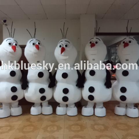 731b6f4a7353 Bswm170 Adult Xmas Snowman Costume Olaf Snowman Maskot Costume For Sale -  Buy Adult Xmas Snowman Costume