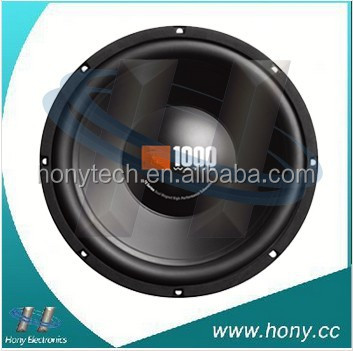 "Single 12"" inch 4 ohm Car Audio Stereo Sound Poly Woofer Subwoofer Bass Speaker"